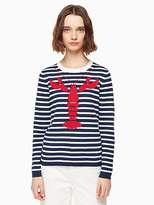 Kate Spade Lobster stripe sweater