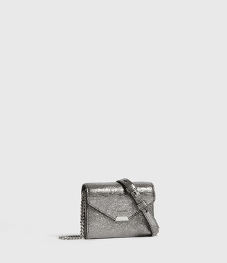 AllSaints Miki Lea Chain Leather Cardholder
