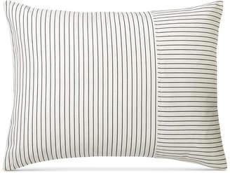"Lauren Ralph Lauren Price Break! Devon Ticking-Stripe 15"" x 20"" Decorative Pillow Bedding"