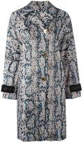 Kenzo lightweight volume trench coat - women - Polyester - XS