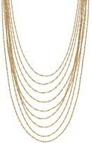 JLO by Jennifer Lopez Twisted Chain Multi Strand Necklace