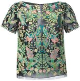 Marchesa embroidered T-shirt