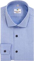 Richard James Mayfair Austin Foulard Print Shirt, Light Blue