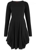 High Jessy Draped Jersey Dress