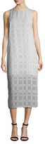 Finders Keepers Better Days Textured Shift Dress