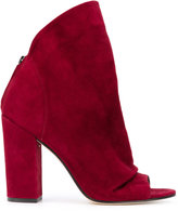 Marc Ellis - open-toe boots - women - Leather/Suede - 37