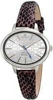 Vivienne Westwood Women's VV102SLPP Brondesbury Analog Display Swiss Quartz Purple Watch
