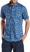 Burnside Floral Contemporary Fit Shirt