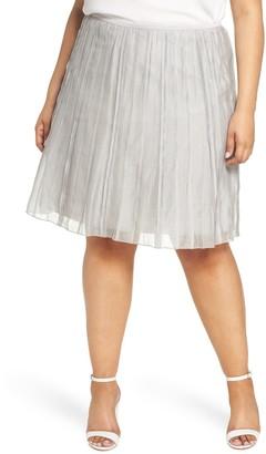 Nic+Zoe Batiste Flirt Skirt (Plus Size)