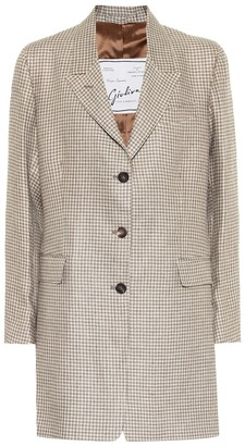 Giuliva Heritage Collection The Karen linen blazer