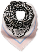 Vince Camuto Leopard Print Silk Scarf