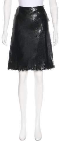 Gianni Versace Vintage Oroton Skirt