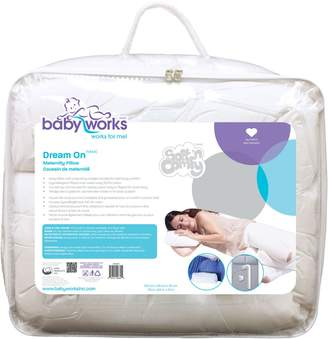 Babyworks Baby Works Dream On Maternity Pillow with Pregnancy Wedge