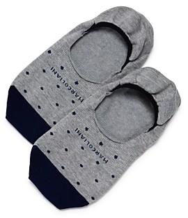 Marcoliani Milano Invitouch Polka Dot No-Show Socks