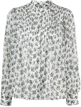 Masscob Floral-Print Chiffon Blouse