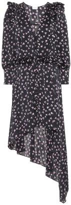Magda Butrym Tarragona printed silk dress