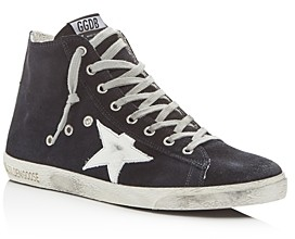 Golden Goose Unisex Francy Suede High-Top Sneakers