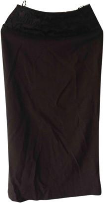 Jean Paul Gaultier Brown Wool Skirts
