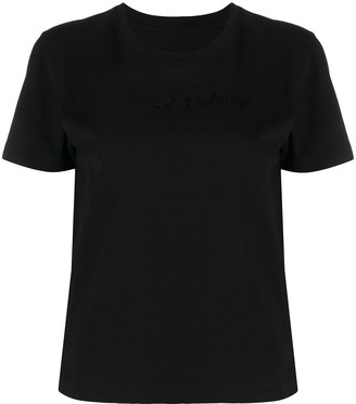 MM6 MAISON MARGIELA cropped short sleeve T-shirt