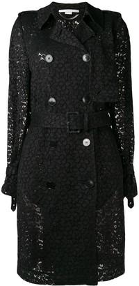 Stella McCartney Lace Trench Coat