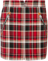 Rag & Bone checked mini skirt