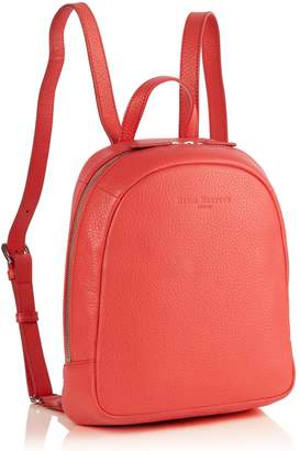 Richmond David Hampton Leather Poppy Mini Backpack In Jaipur Pink
