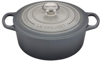 Le Creuset NEW! Limited Time Grey Ombre 4.5 qt. Signature Round Dutch Oven