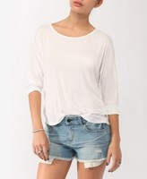 Crochet Inset Dolman Top