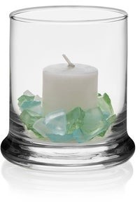 Libbey Status Glass Votive Candle Holders, Set of 12