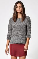 La Hearts Marled Pullover Sweater