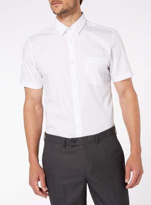 Tu 2 Pack White Slim Fit Shirts