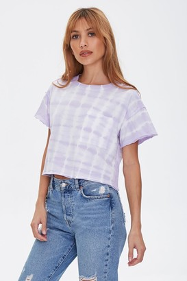 Forever 21 Cropped Tie-Dye Tee