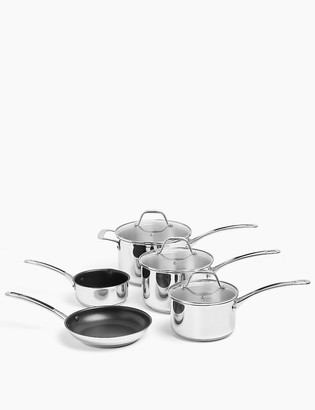 Marks and Spencer Stainless Steel 5 Piece Pan Set