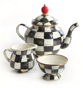 Mackenzie Childs MacKenzie-Childs Courtly Check Teapot Set
