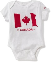 Old Navy Flag-Graphic Canada Bodysuit for Baby