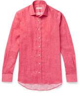 Etro Mélange Linen Shirt