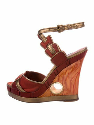 Louis Vuitton Sandals Orange