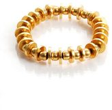 Philippe Audibert Gold Small Multi Circl Strtch Bracelet