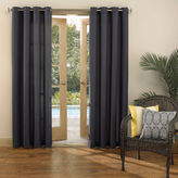 Sun Zero Sun ZeroTM Batai Indoor/Outdoor Woven Solid Grommet-Top Curtain Panel