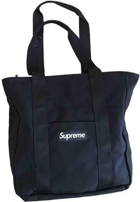 Supreme Black Cloth Travel bags