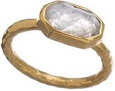 Melinda Maria Gold And Moonstone Baby Slice Ring