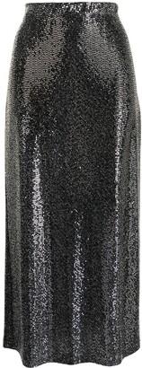 Rosetta Getty Embellished Sequin Skirt