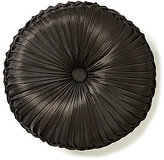 J Queen New York Bridgeport Button-Tufted Chenille Round Pillow