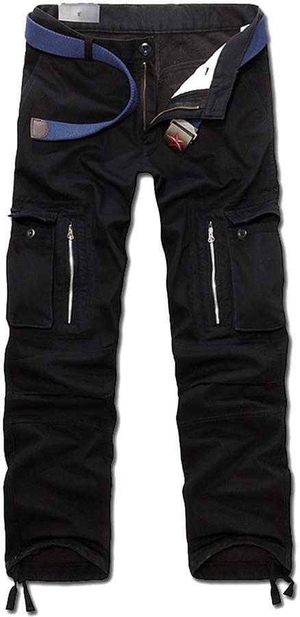 4f196e9b9 Mens Black Lined Cargo Pants - ShopStyle Canada