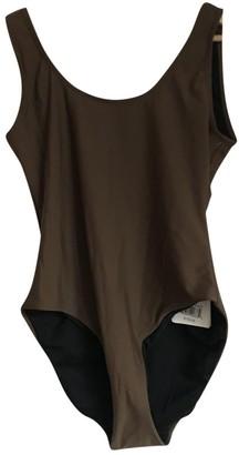 Onia Brown Synthetic Swimwear