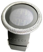Gucci YA114202 Genuine 12 Ct Diamond XL Bezel Mens Watch