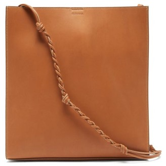 Jil Sander Tangle Braided-strap Leather Tote Bag - Tan