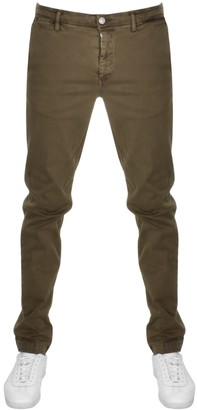 Replay Zeumar Hyperflex Jeans Brown