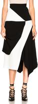 J.W.Anderson Contrast Asymmetric Skirt