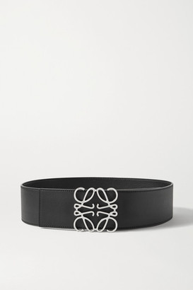 Loewe Reversible Leather Belt - Black